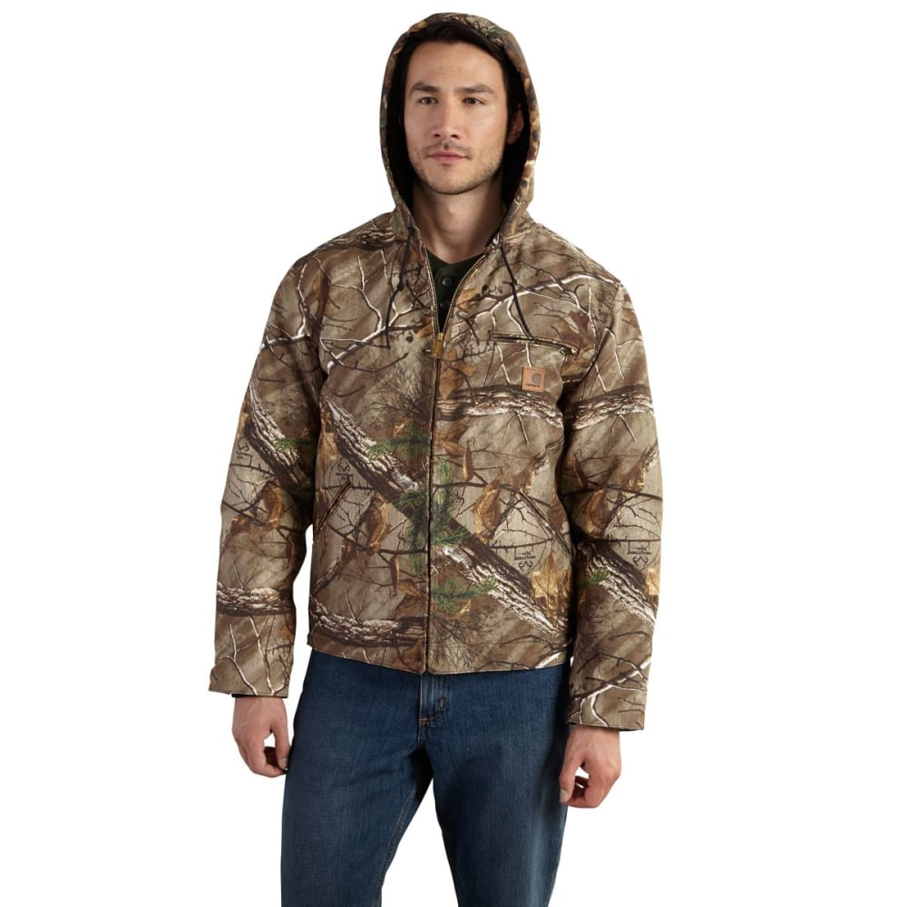 CARHARTT Camo Sierra Jacket, Extended Sizes - REALTREE XTRA