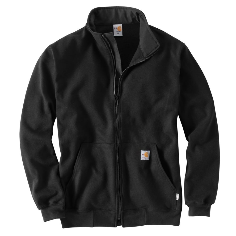 CARHARTT Men's Flame-Resistant Heavyweight Klondike Sweatshirt, Big & Tall - BLACK