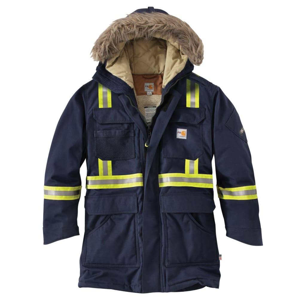 CARHARTT Flame-Resistant Extremes Arctic Parka, Extended Sizes - DARK NAVY