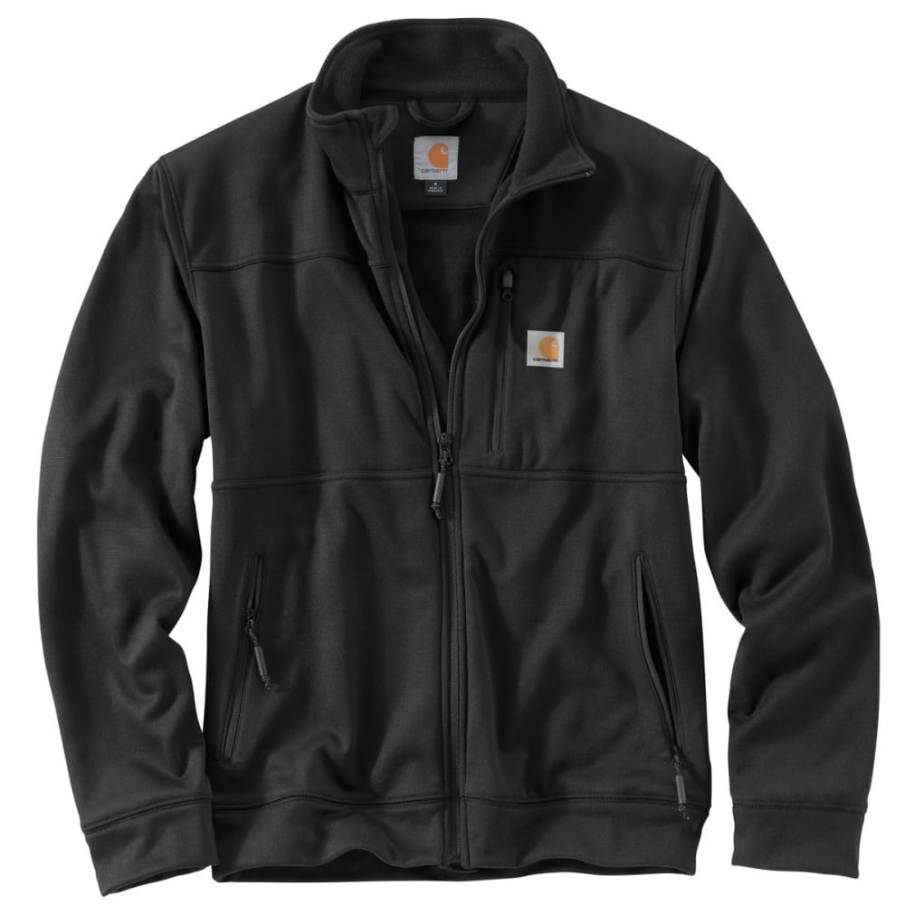 CARHARTT Workman Jacket, Extended Sizes - BLACK
