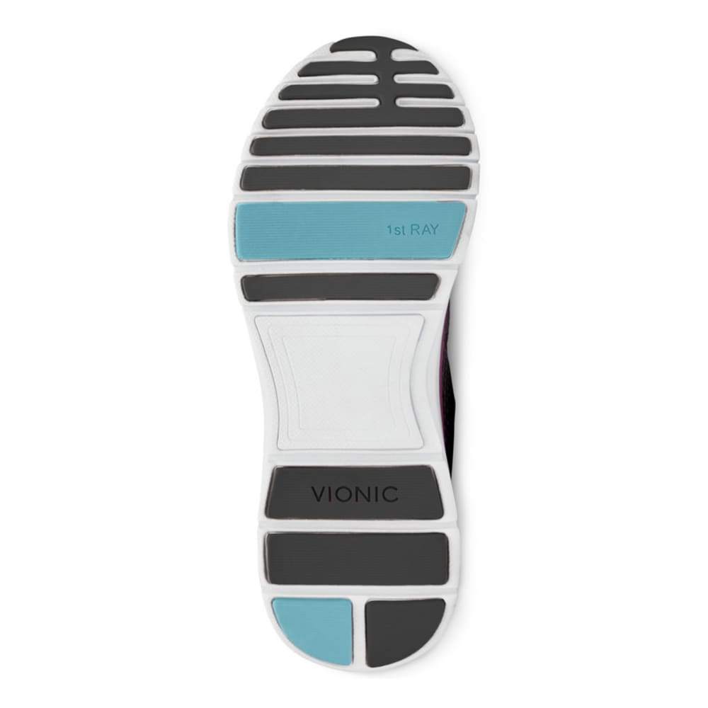 VIONIC Women's Elation Active Shoes, Black/Teal - BLACK/TEAL