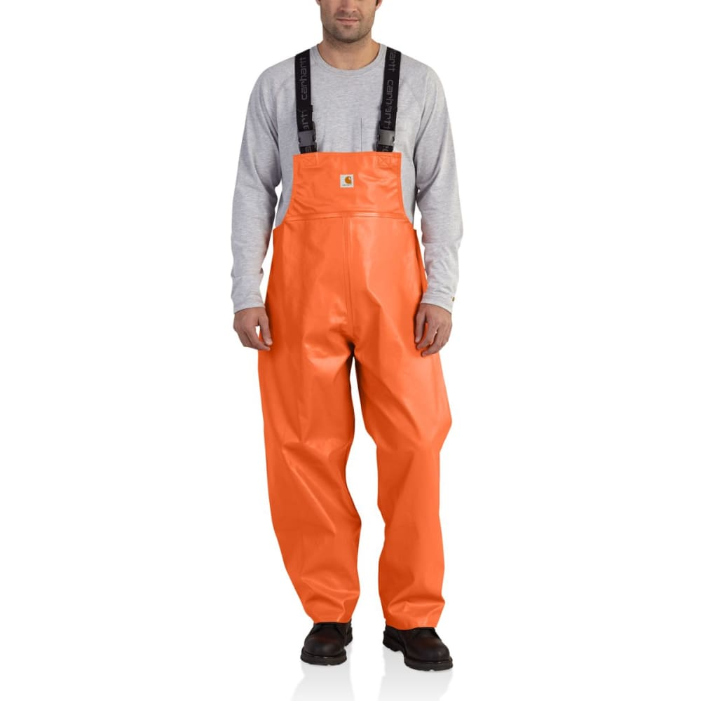 CARHARTT Belfast Bib Overalls, Extended Sizes - ORANGE