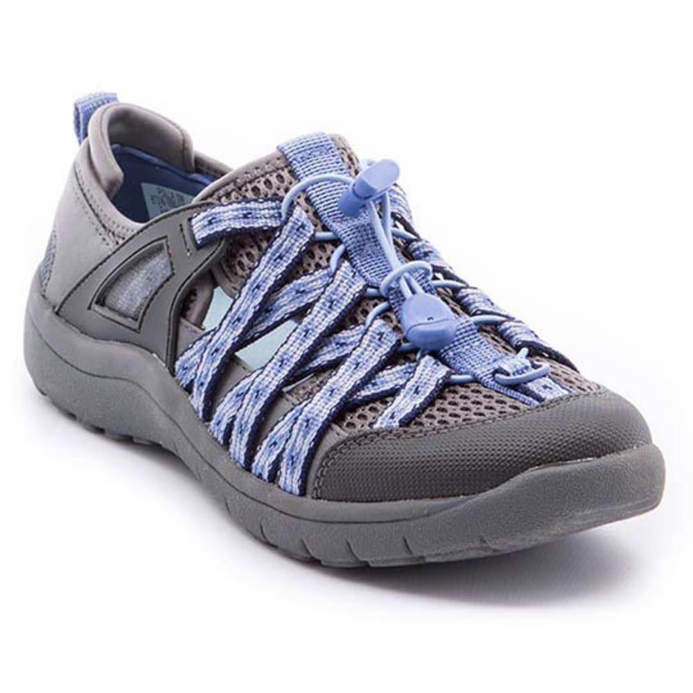 BARETRAPS Women's Polla Slip-On Shoes - DARK GREY/LAVENDER