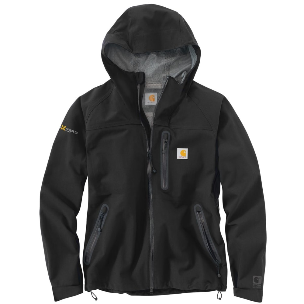 CARHARTT Extremes Shoreline Vortex Jacket, Extended Sizes - BLACK