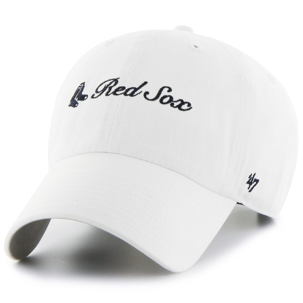 BOSTON RED SOX Women's Cohasset '47 Clean Up Adjustable Hat - WHITE