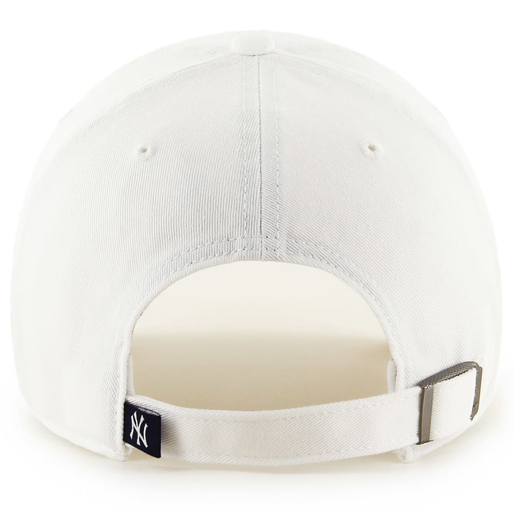 NEW YORK YANKEES Women's Cohasset '47 Clean Up Adjustable Hat - WHITE
