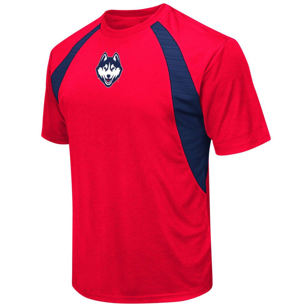 UCONN Men's In the Vault Cut and Sew Short-Sleeve Tee - RED