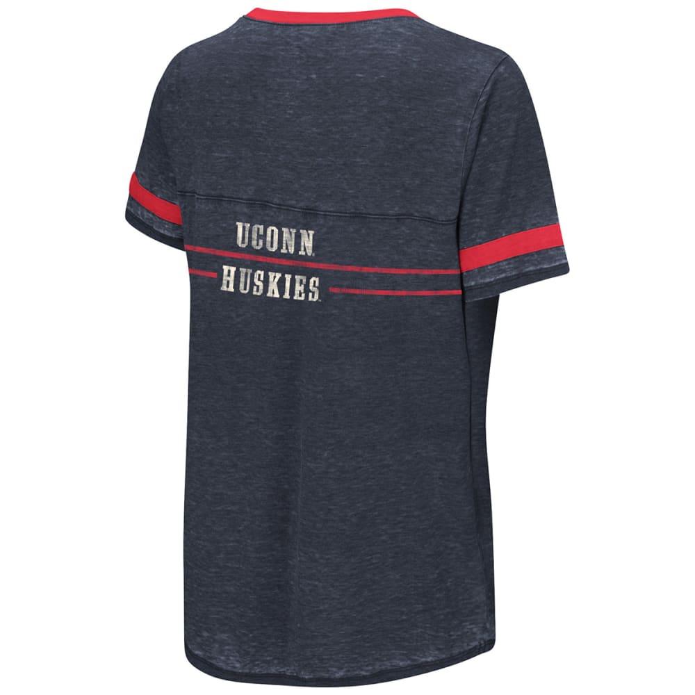 UCONN Women's Gunther Jersey Short-Sleeve Tee - NAVY