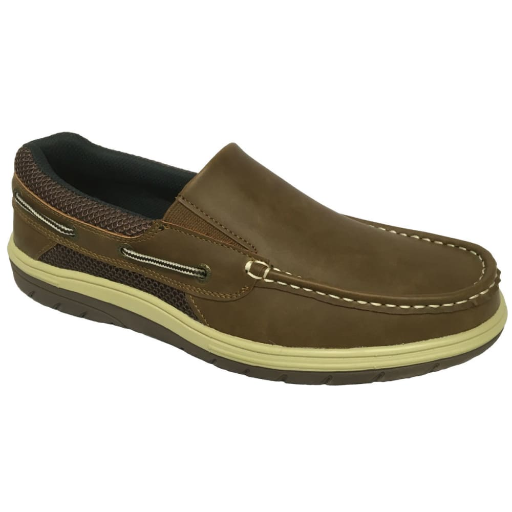 ISLAND SURF Men's Surf Sail Lite Slip-On Shoes - BROWN