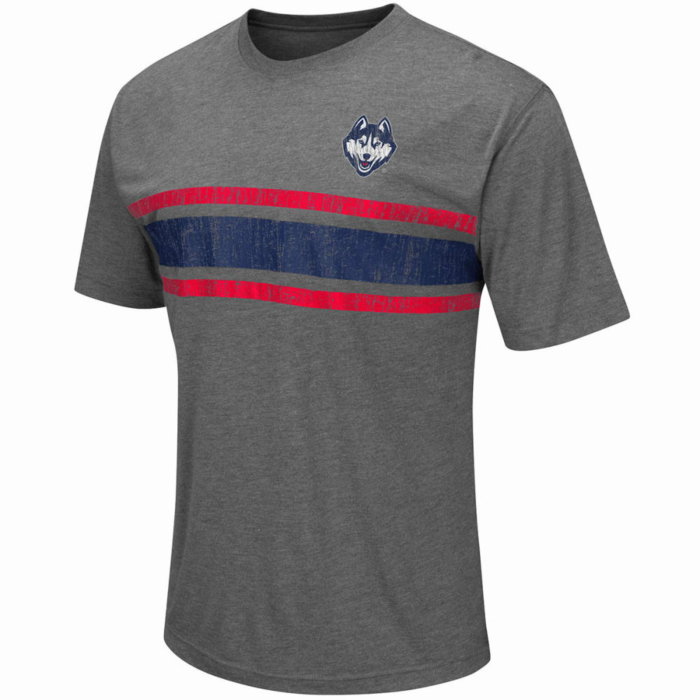 UCONN Men's Switch Distressed Short-Sleeve Tee - GREY