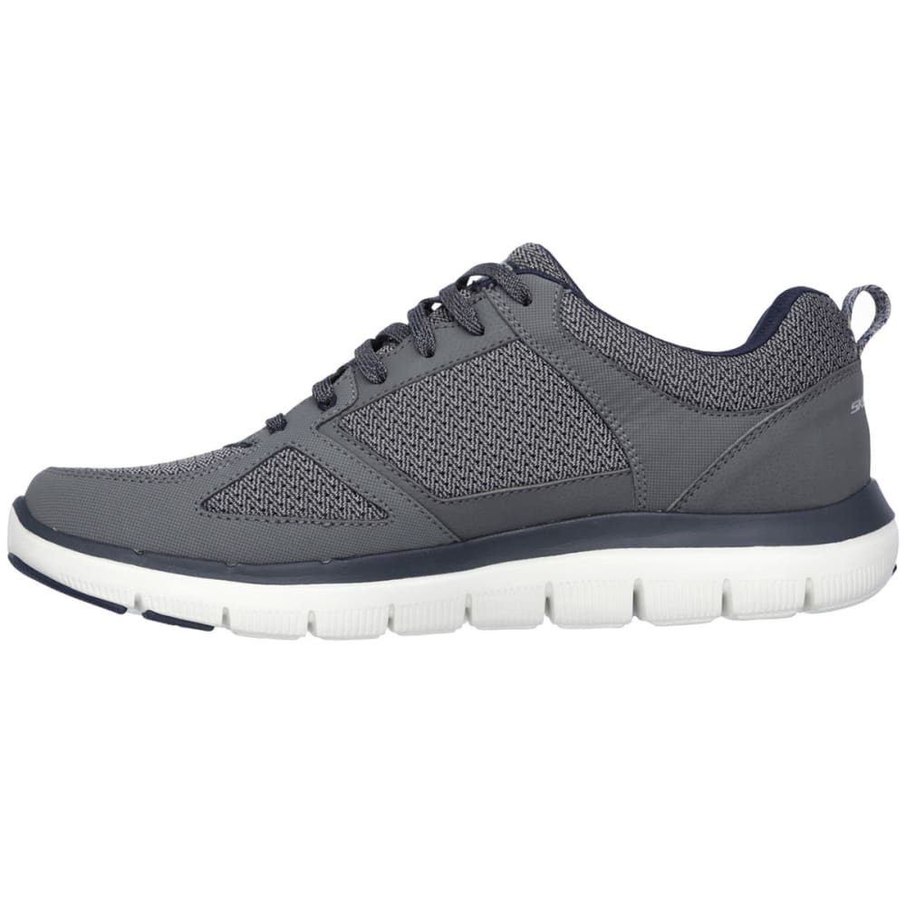 SKECHERS Men's Flex Advantage 2.0 Shoes - CHARCOAL