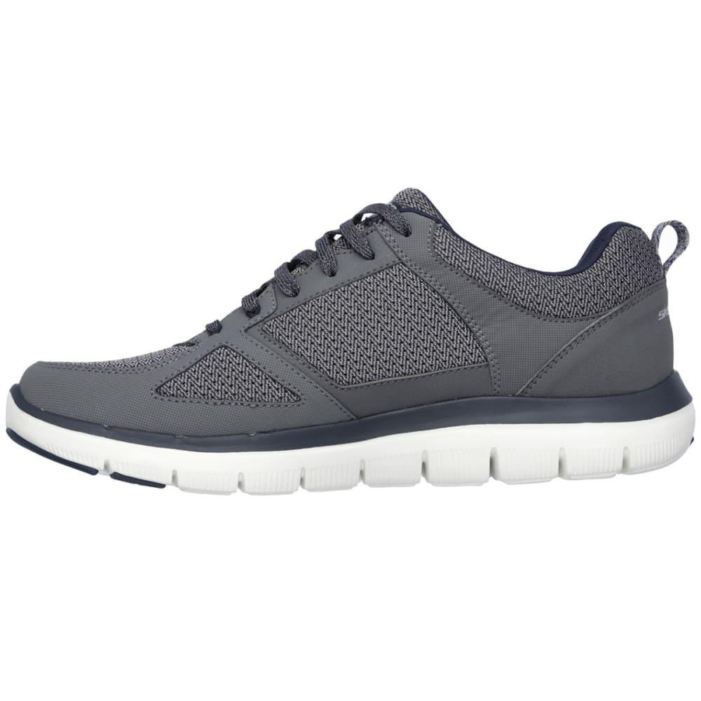 SKECHERS Men's Flex Advantage 2.0 Shoes - CHARCOAL