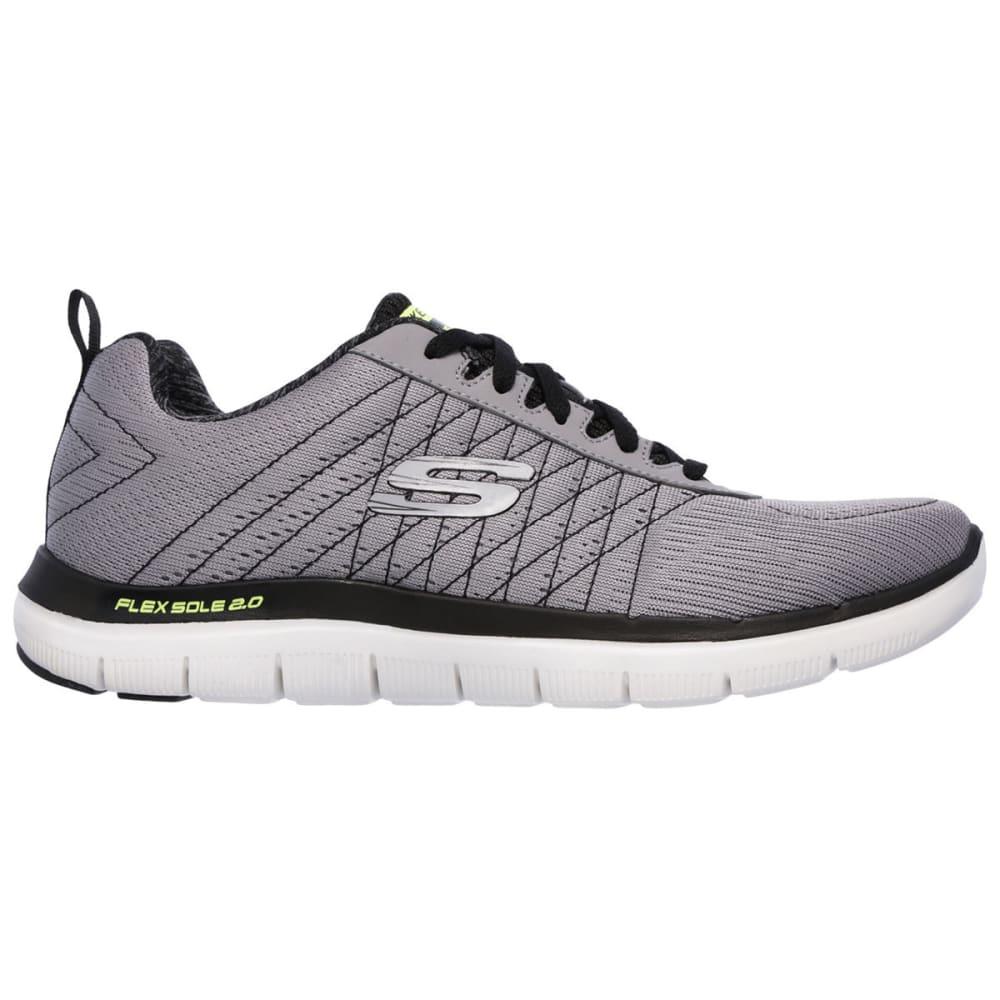 SKECHERS Men's Flex Advantage 2.0 - The Happs Sneakers - GREY