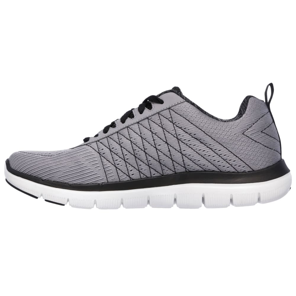 SKECHERS Men's Flex Advantage 2.0 - The Happs Sneakers - GREY