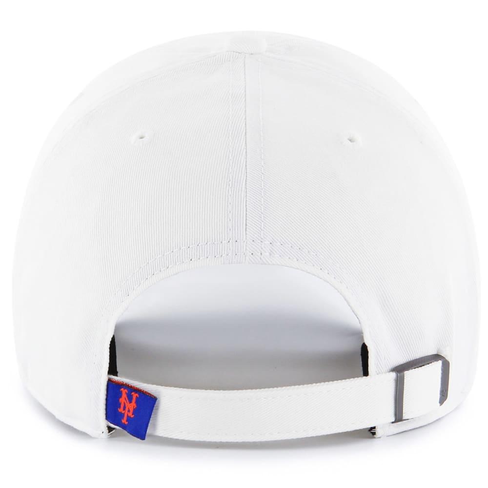 NEW YORK METS Women's Cohasset '47 Clean Up Adjustable Hat - WHITE