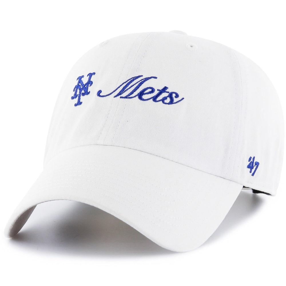 NEW YORK METS Women's Cohasset '47 Clean Up Adjustable Hat ONESIZE