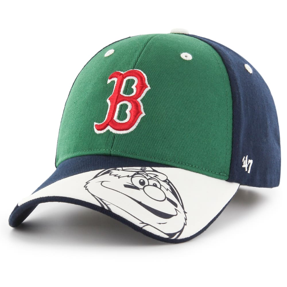BOSTON RED SOX Kids' Wally '47 MVP Adjustable Cap - GREEN/NAVY