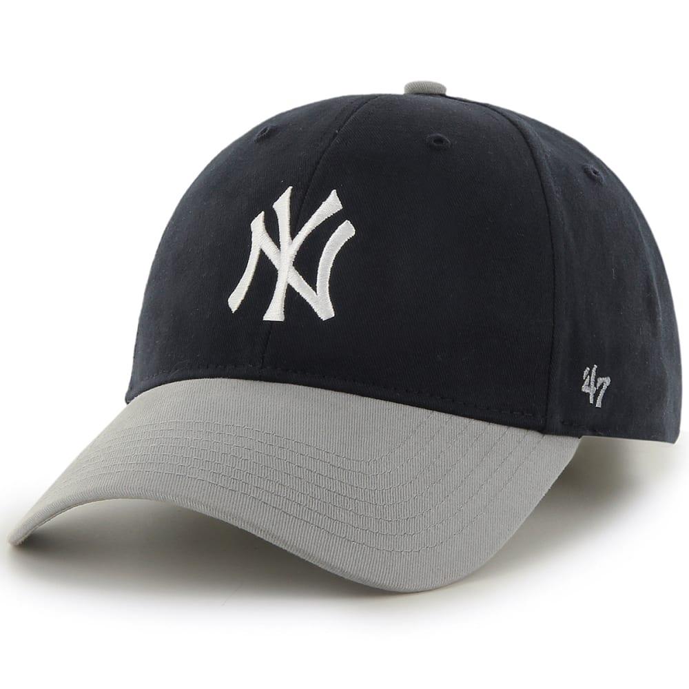 NEW YORK YANKEES Kids' Short Stack '47 MVP Adjustable Hat - NAVY