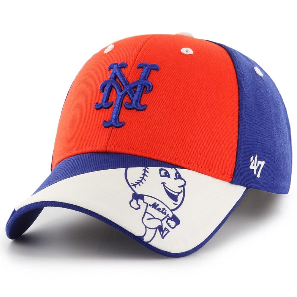 NEW YORK METS Kids' Mr. Met Akela '47 MVP Adjustable Cap - ROYAL BLUE