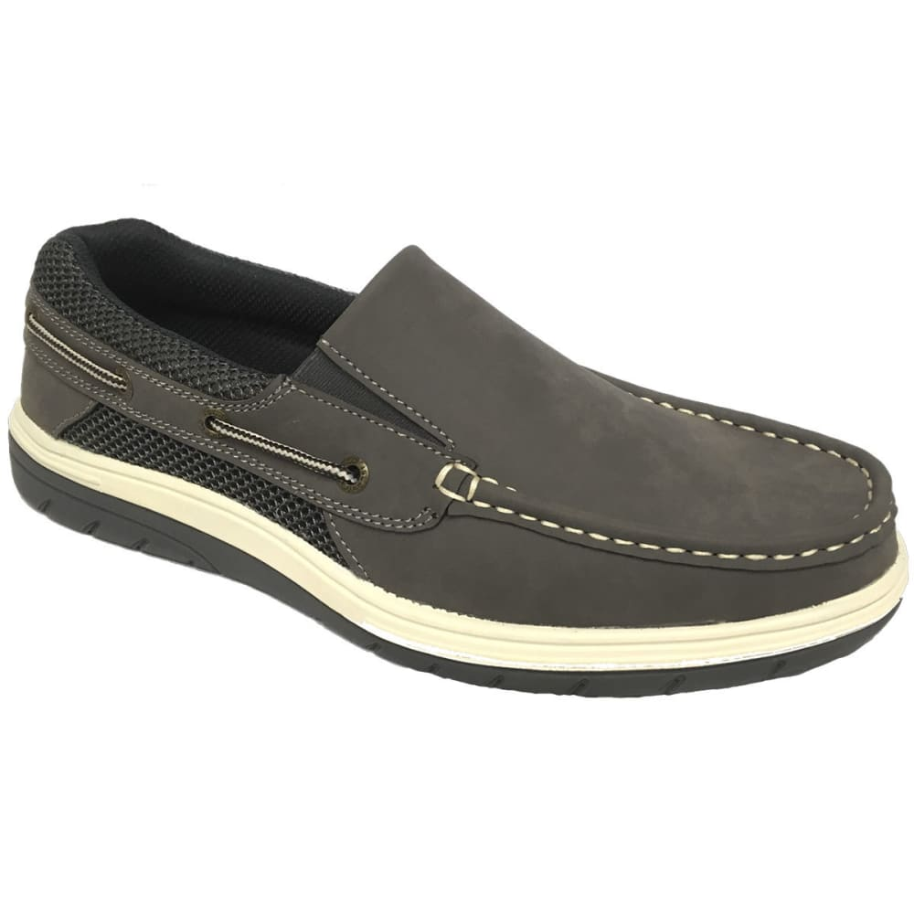 ISLAND SURF Men's Surf Sail Lite Slip-On Casual Shoes, Grey - GREY