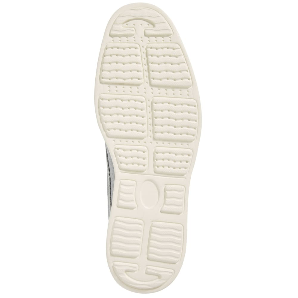 HANG TEN Men's Park Slope Waxed Linen Casual Shoes, Grey - GREY