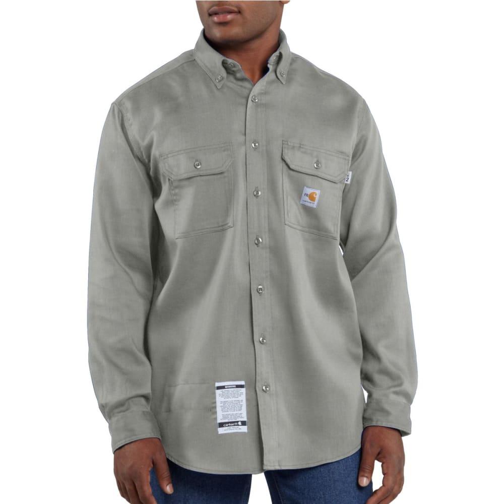 CARHARTT Men's Flame-Resistant Lightweight Twill Shirt, Extended Sizes 4XL TALL