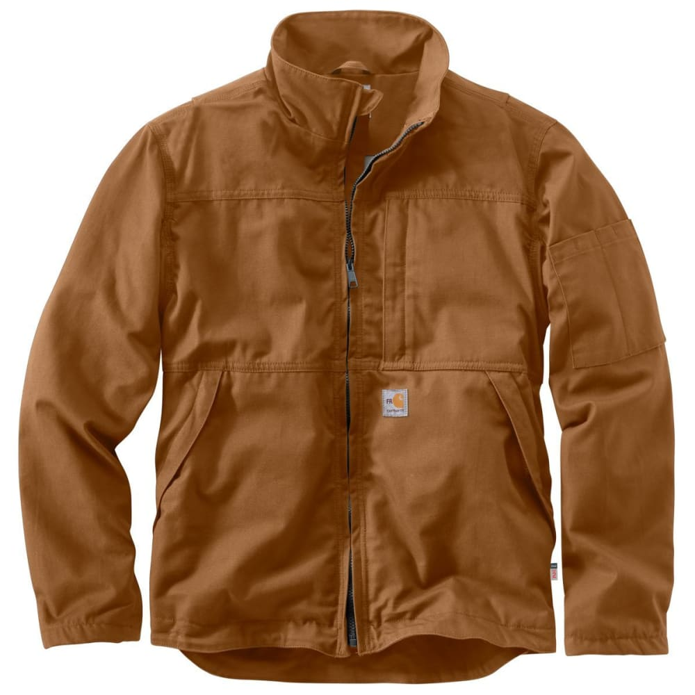 CARHARTT Men's Full Swing Quick Duck Jacket, Extended Sizes - CARHARTT BROWN