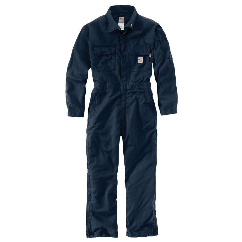 CARHARTT Men's Deluxe Coverall, Extended Sizes - DARK NAVY