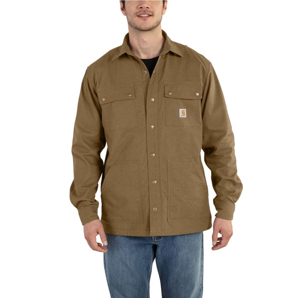 CARHARTT Full Swing Quick Duck Overland Shirt Jacket - YUKON