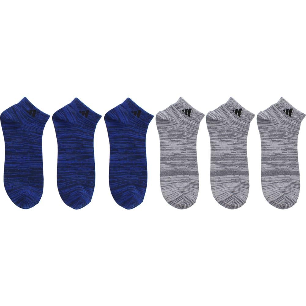 ADIDAS Men's Superlite Low-Cut Socks, 6 Pack - ROYAL/BLACK