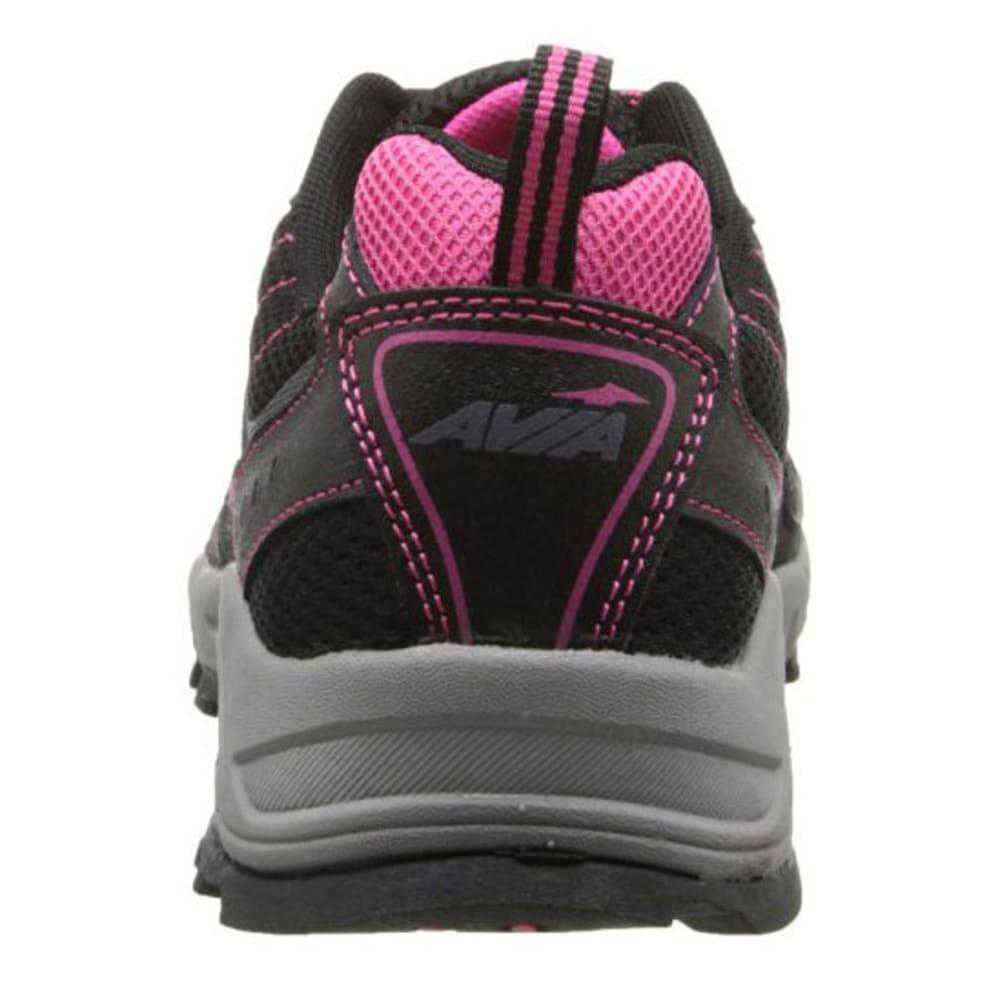 AVIA Women's Avi-Dell Trail Running Shoes, Wide - BLACK