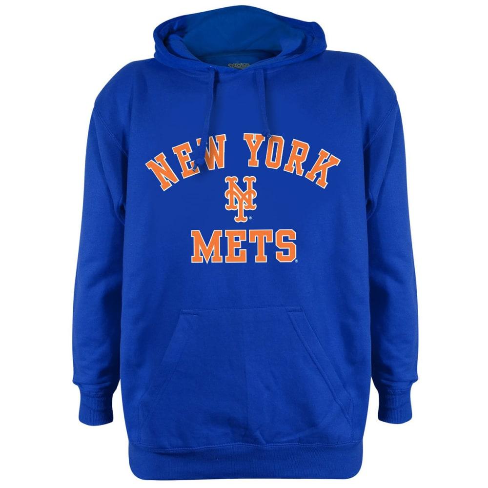 NEW YORK METS Men's Name and Logo Hoodie - ROYAL BLUE