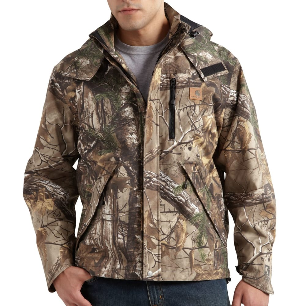 CARHARTT Camo Shoreline Jacket, Extended Sizes - REALTREE XTRA