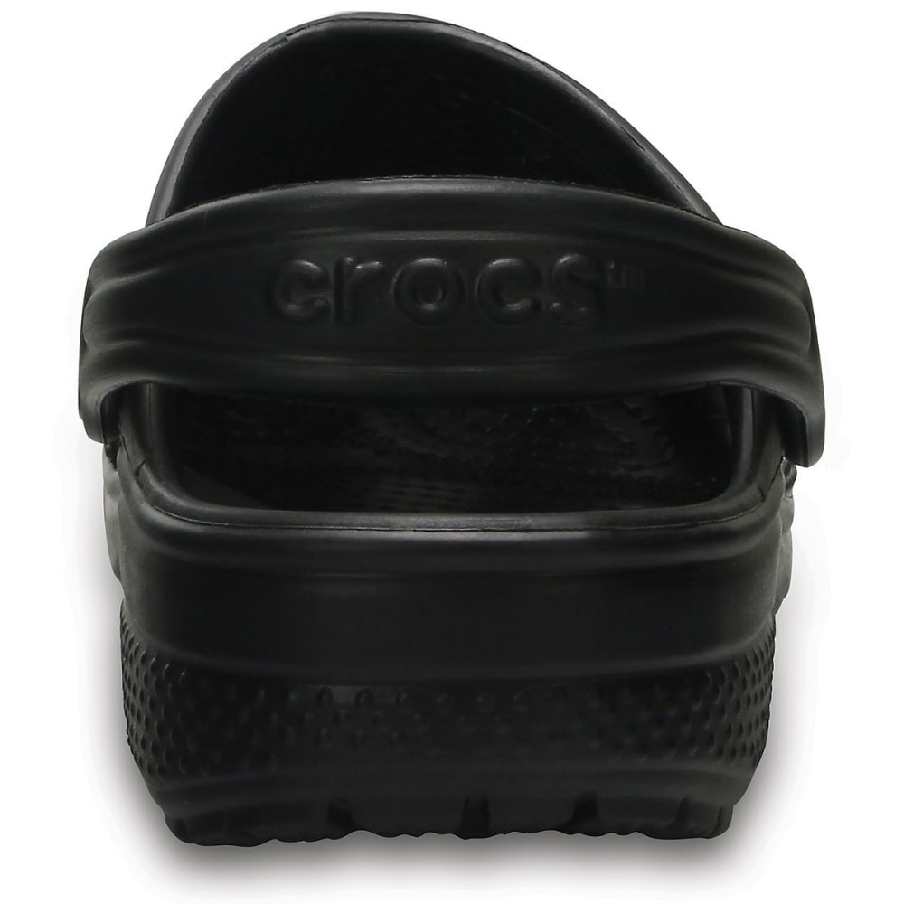 CROCS Kids' Classic Clogs, Black - BLACK