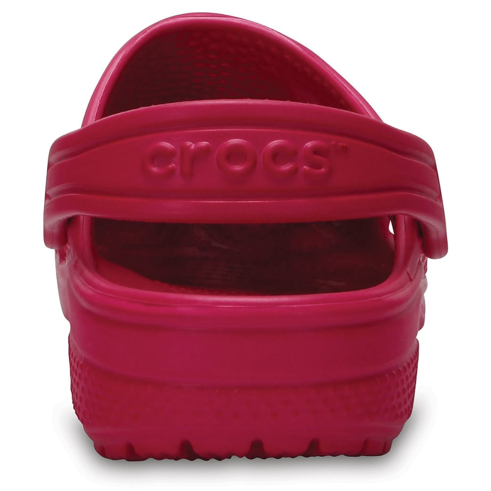 CROCS Girls' Classic Clogs, Candy Pink - CANDY PINK