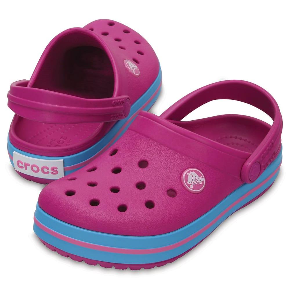 CROCS Girls' Crocband Clogs, Vibrant Violet - VIOLET-50L