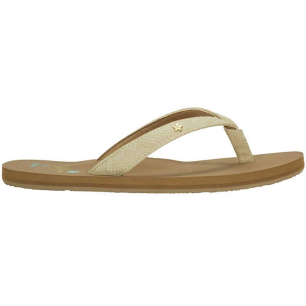 COBIAN Women's Hanelei Flip-Flops, Nude - NUDE