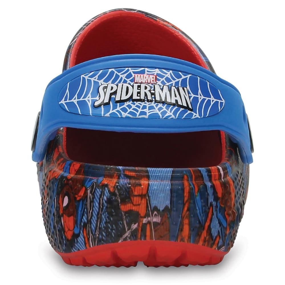 CROCS Boys' Fun Lab Spider-Man Clogs - NAVY