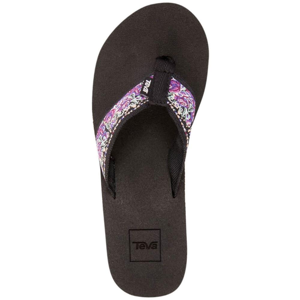 TEVA Women's Mush II Flip Flops, Rosa Purple - ROSA PURPLE