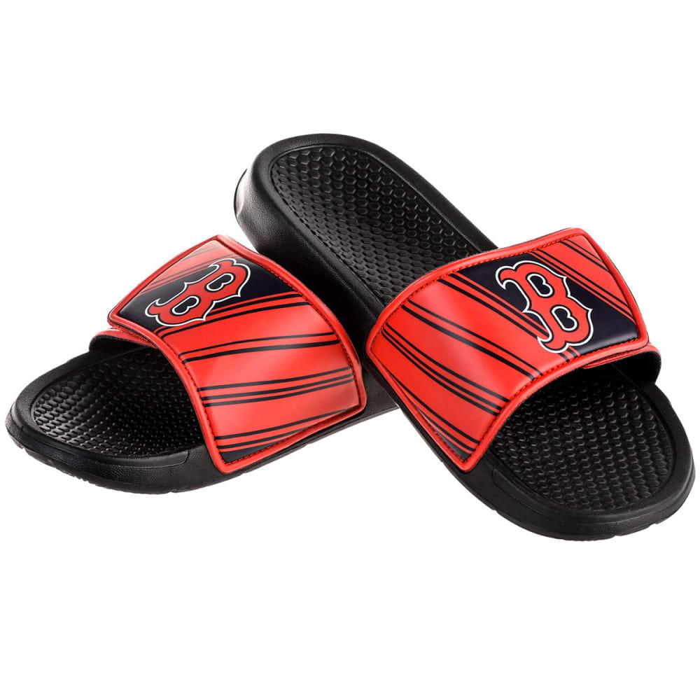BOSTON RED SOX Boys' Legacy Sports Slides - BLACK