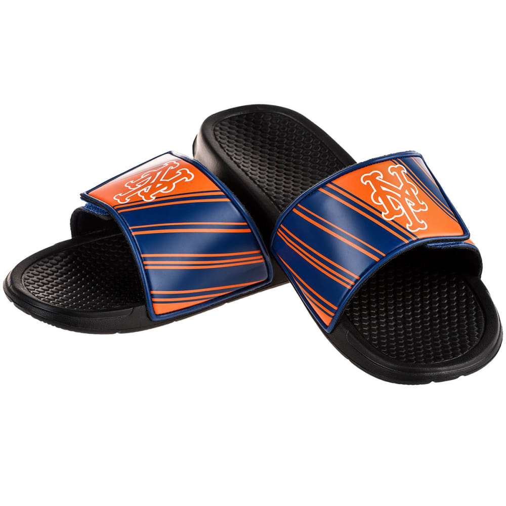 NEW YORK METS Boys' Legacy Sports Slides - BLACK