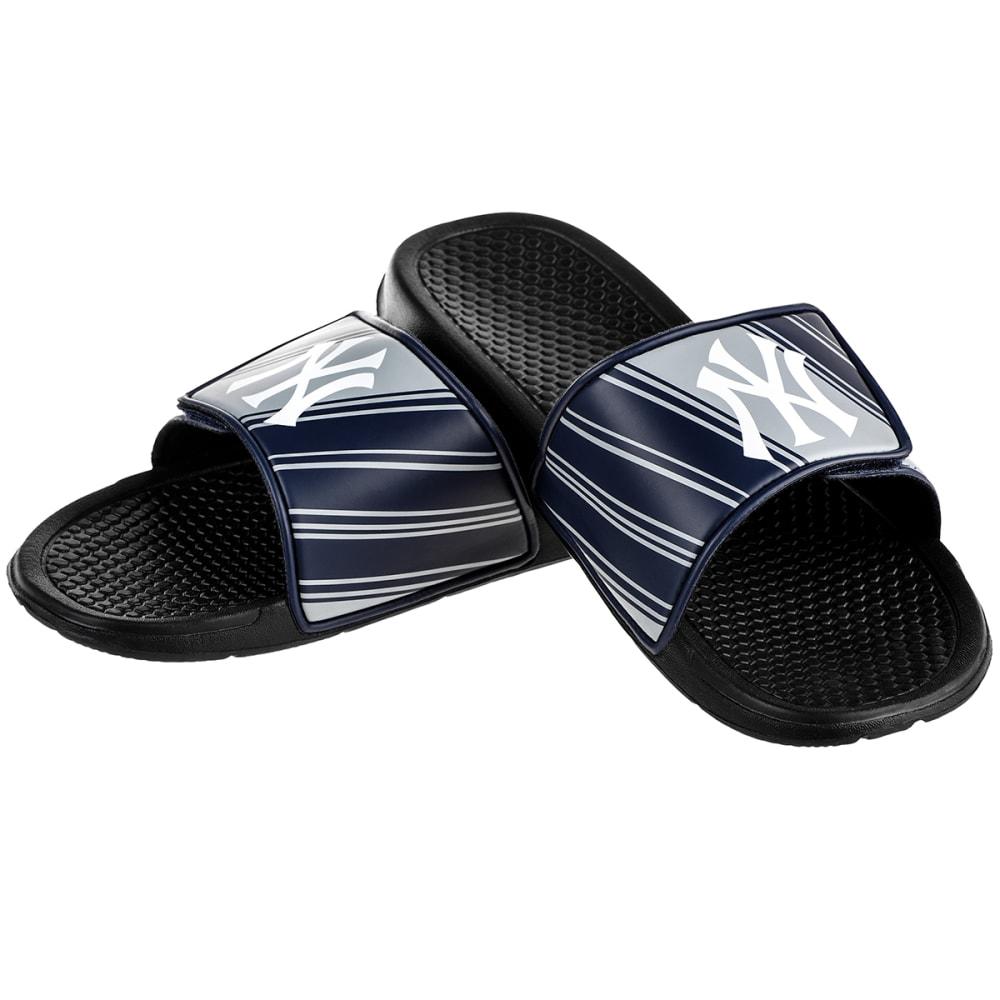 NEW YORK YANKEES Boys' Legacy Sports Slides - BLACK