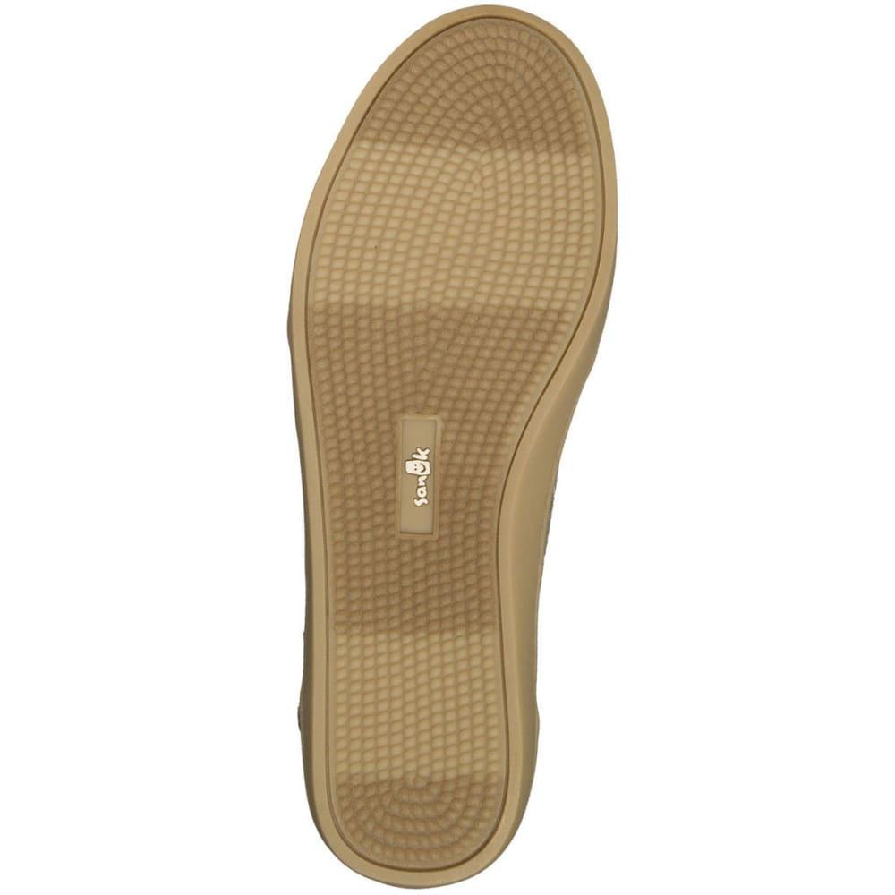 SANUK Women's Pair O Dice Slip-On Shoes - OLV-OLIVE