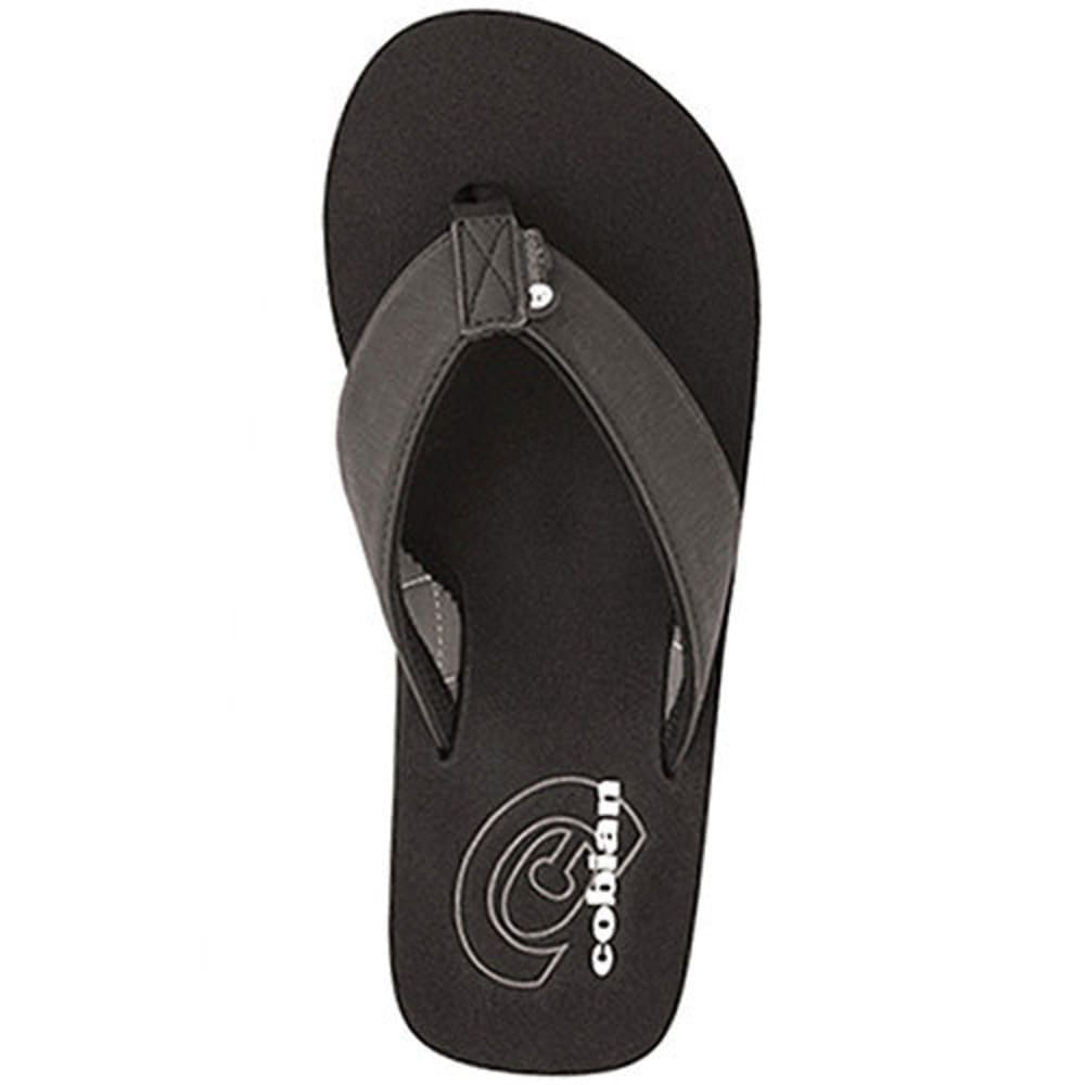 Cobian Men's Floater Sandals - Black, 9