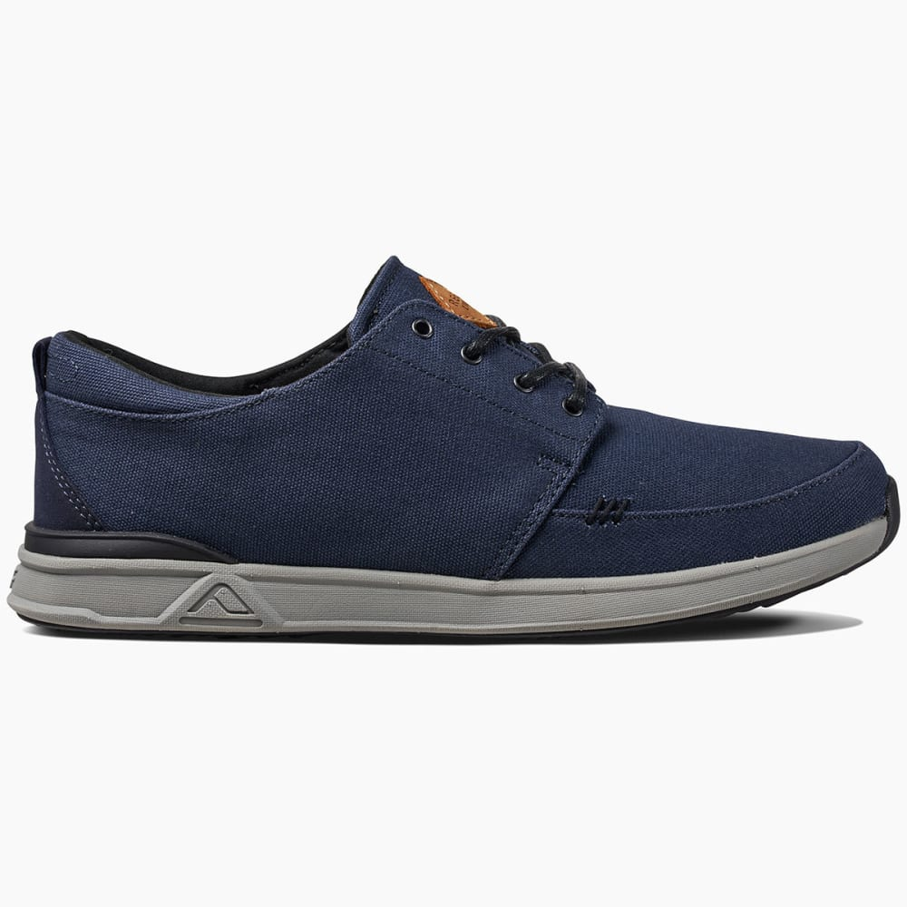 REEF Men's Rover Low Sneakers, Navy - NAVY/GREY