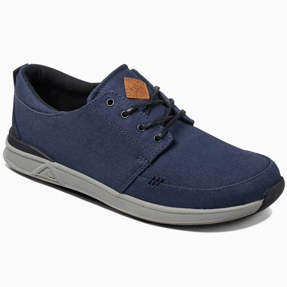 REEF Men's Rover Low Sneakers, Navy 8