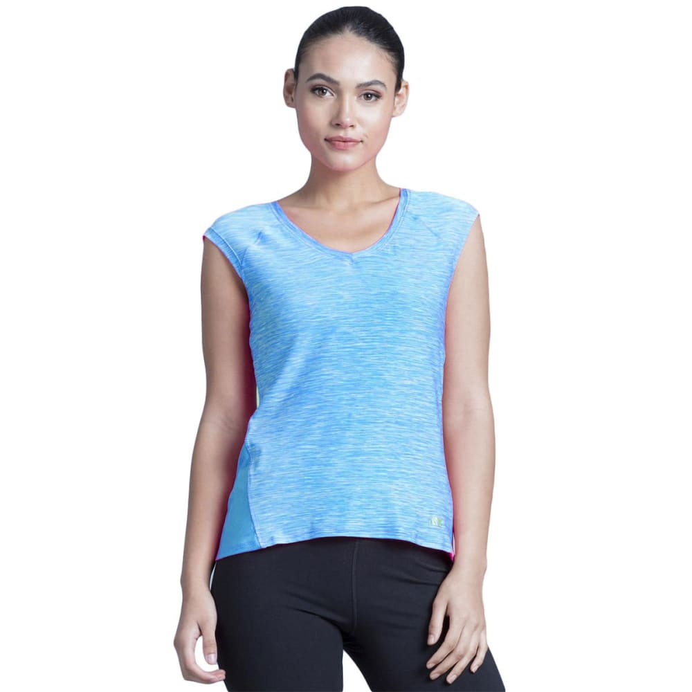 MARIKA Women's Charged Short-Sleeve Tee - STRIKING BLUE-4GM