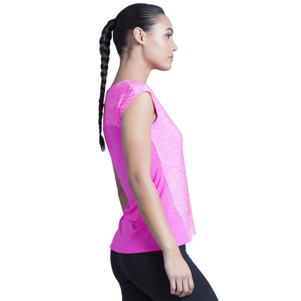 MARIKA Women's Charged Short-Sleeve Tee - PINK BLAST-2A1