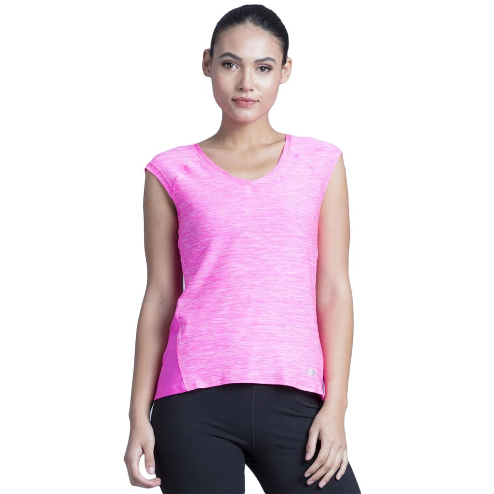 MARIKA Women's Charged Short-Sleeve Tee - PINK BLAST-2A1