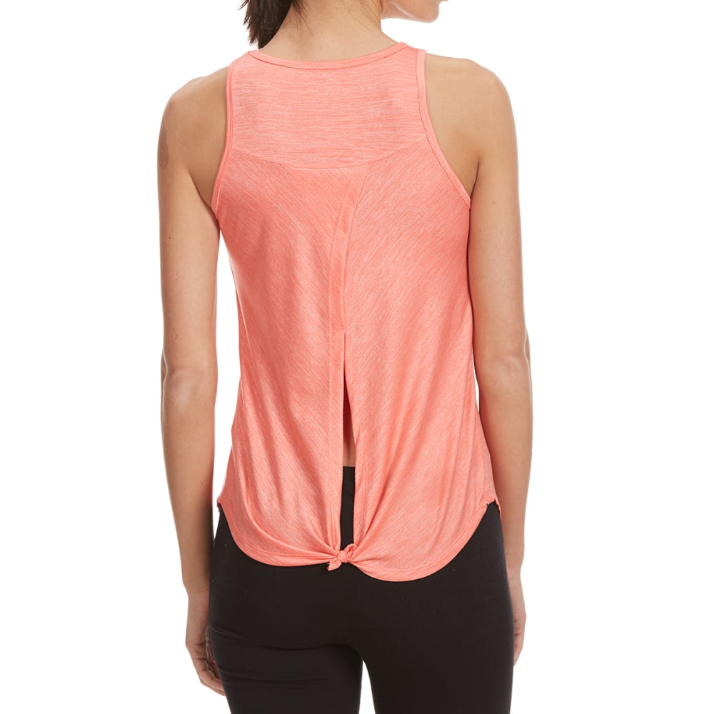 BALANCE COLLECTION BY MARIKA Women's Opal Knot Tank Top - GEORGIA PEACH-71A